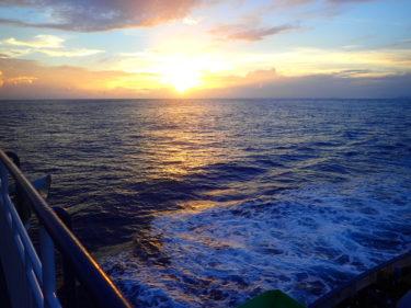 【南大東島③】フェリーだいとう、女一人の乗船記!船内の設備を紹介、揺れは覚悟の上で~南大東島旅行記~(船旅の章)