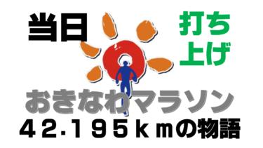 【おきなわマラソン⑥】フルマラソン完走の打ち上げは肉三昧!~沖縄で初めてのフルマラソンにチャレンジし完走した旅ランブログ~(大会当日・打ち上げの章)